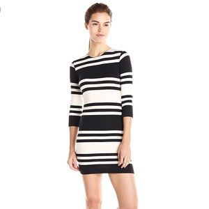 French Connection Jag Stripe 3/4 Dress